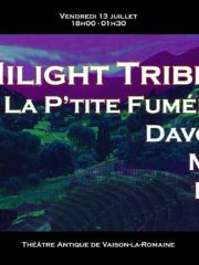 HILIGHT TRIBE, DAVODKA, MAHOM AU THÉÂTRE ANTIQUE