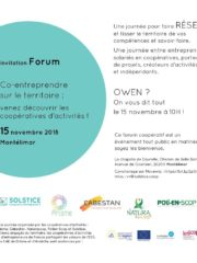 Forum Co-entreprendre