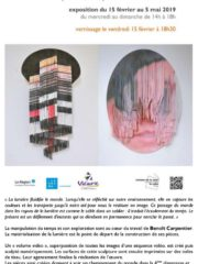 Vernissage exposition : Benoit Carpentier